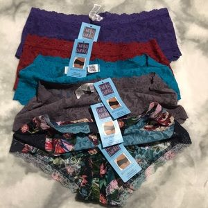 Hanky Panky Intimates & Sleepwear - 5Pack Boyshorts Bundle